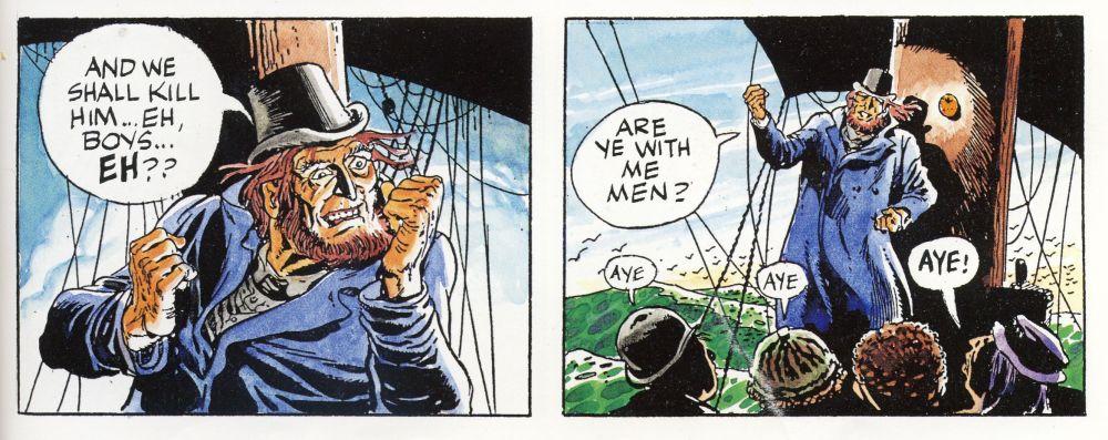 Ausdruckstarke Gestik bei Will Eisner