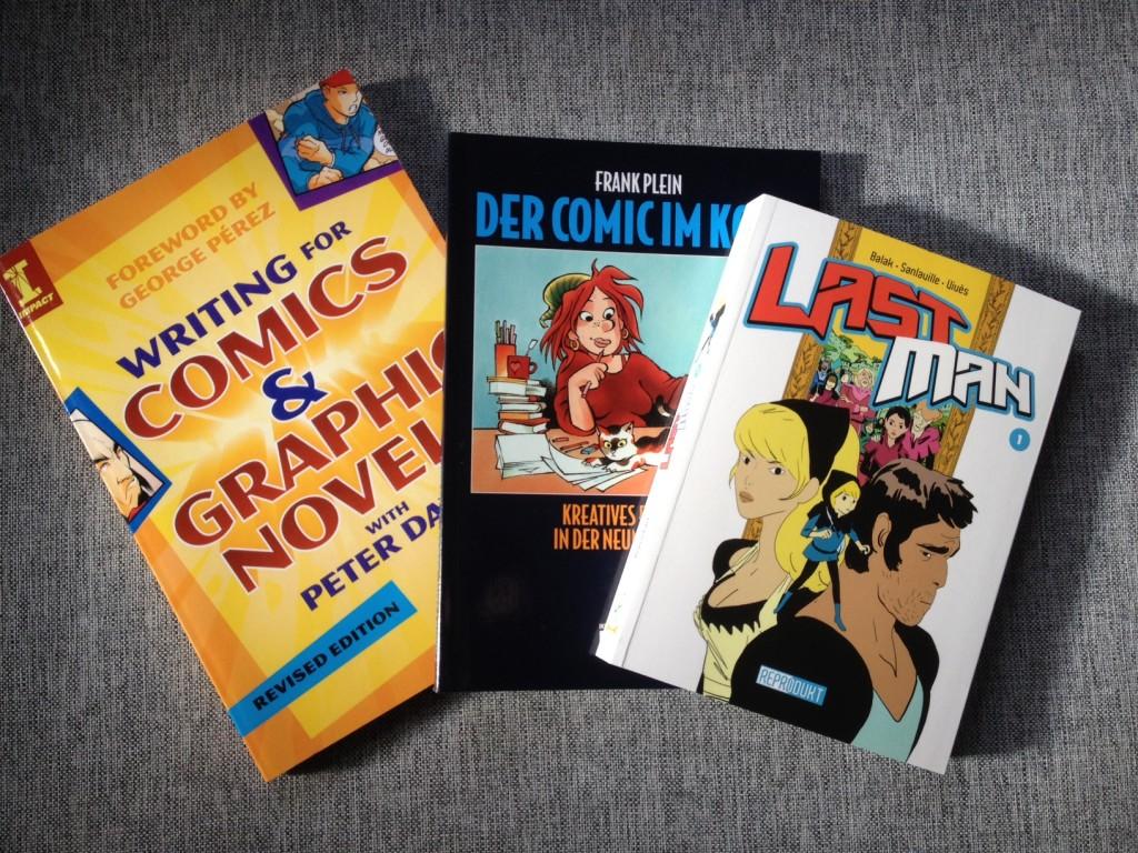 Writing Comics, Der Comic im Kopf und Last Man