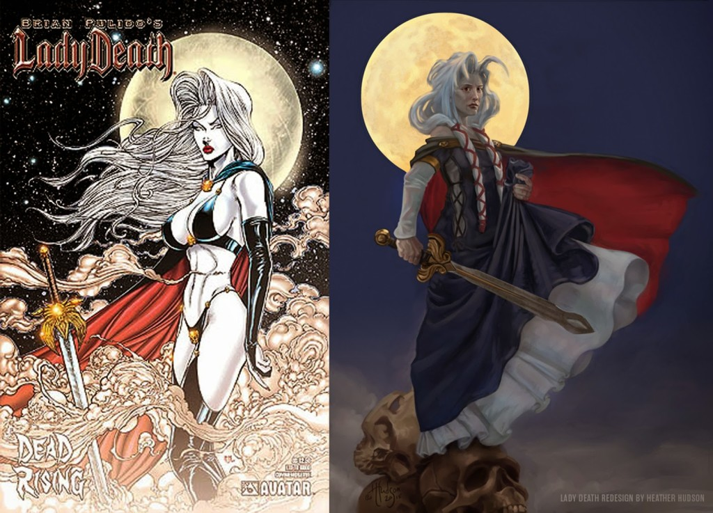 Lady Death Redesign von Heather Hudson
