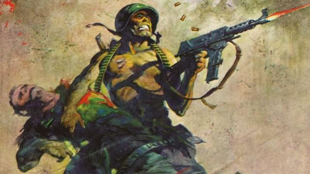 Cover Blazing Combat