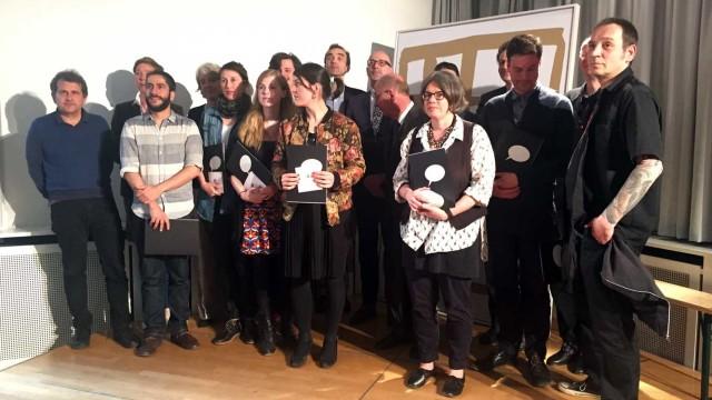 Jury, Preisträgerin und Finalisten des Comicbuchpreises 2015