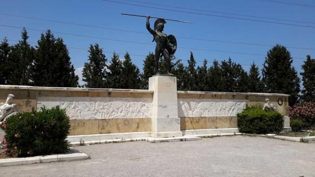 Denkmal für Leonidas bei den Thermopylen, © Stefan Svik