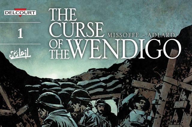 """Cover von """"The curse of the Wendigo"""", einer Startserien, mit denen Delcourt bei Comixology loslegt"""