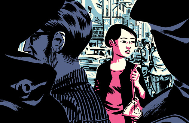 © Michael Cho, Egmont Graphic Novel