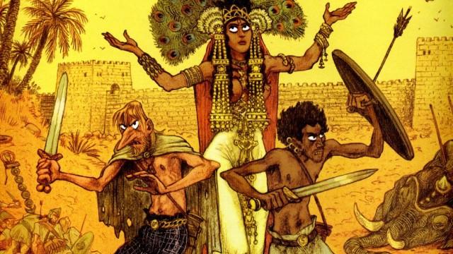 Cover Die Diebe von Karthago