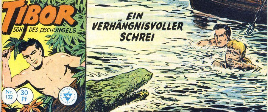 Tibor Sohn des Dschungels 102, Lehning Verlag