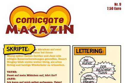 Comicgate-Magazin 9