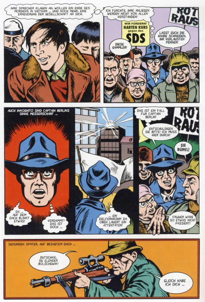 Seite aus Captain Berlin 4