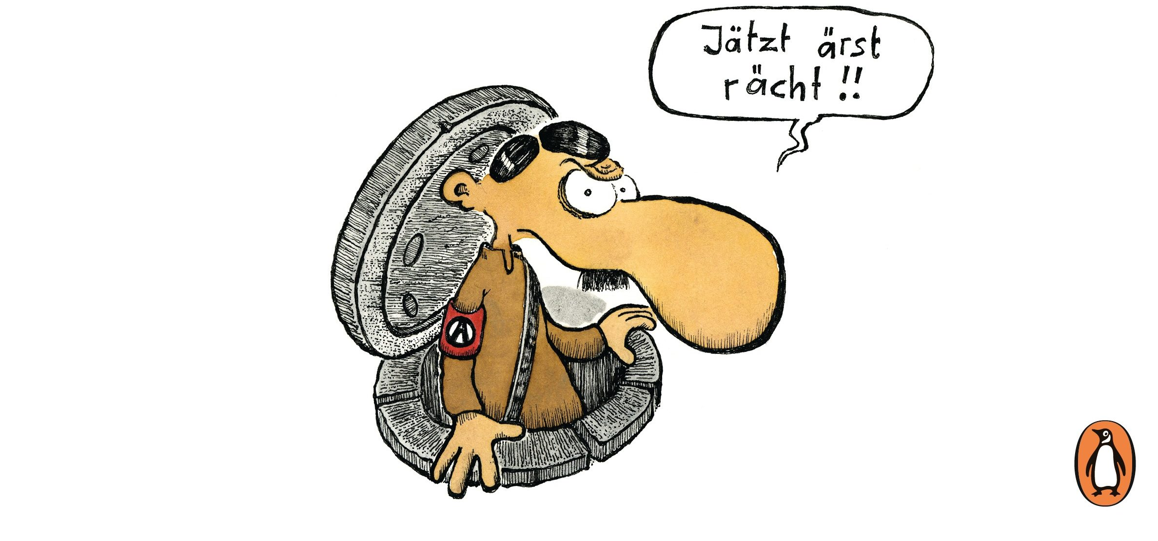Adolf total von Walter Moers