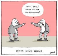 Freitag? Schnick Schnack Schnuck