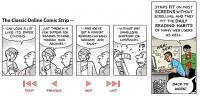 Der klassische Online-Strip