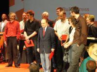 Die Preisträger bzw. ihre Stellvertreter