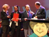 Wäscher erhält den Spezialpreis bei der Max-und-Moritz-Preisverleihung 2008