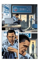 Page from Presidential Material: Barack Obama