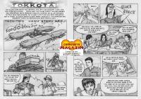 Comicgate-Magazin 4 Comic vom Tech-Trio (Seiten von red HAWK)