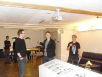 Michael Groenewald, Lynn Kost, Uli Oesterle (v.l.n.r.)