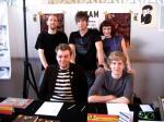 Die Jazam-Redaktion auf dem Comicfestival München 2009