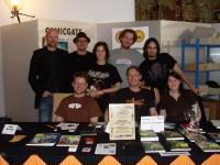 Das Comicgate-Team auf dem Comicfestival 2009