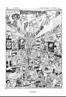 Abstrakter Comic von M.S. Bastian