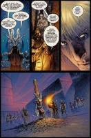 Seite aus Marvel 1602