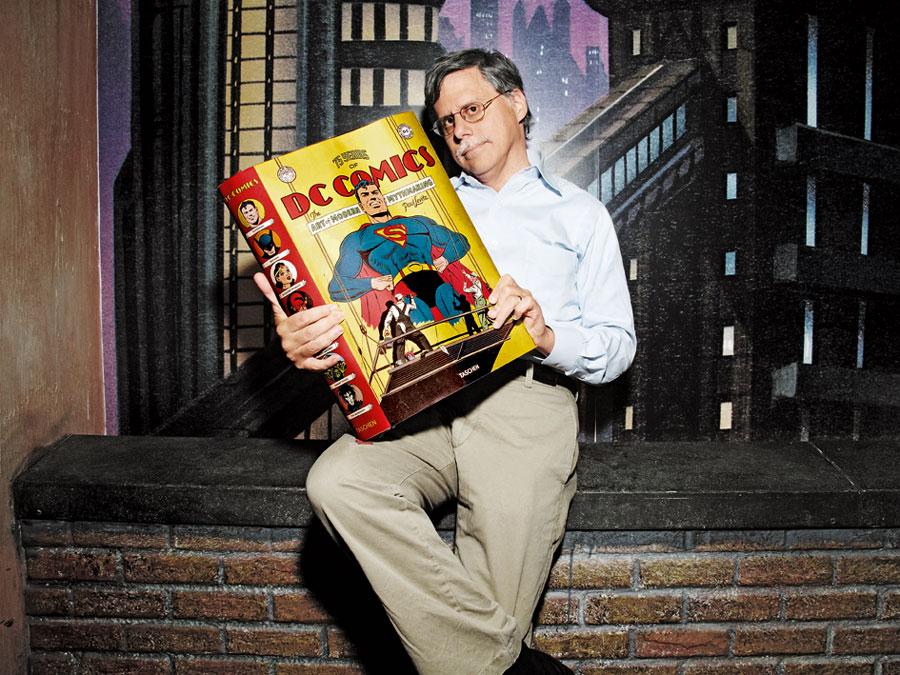 Paul Levitz, DC Comics office, 2010 (Photo: Kareem Black/Courtesy TASCHEN)