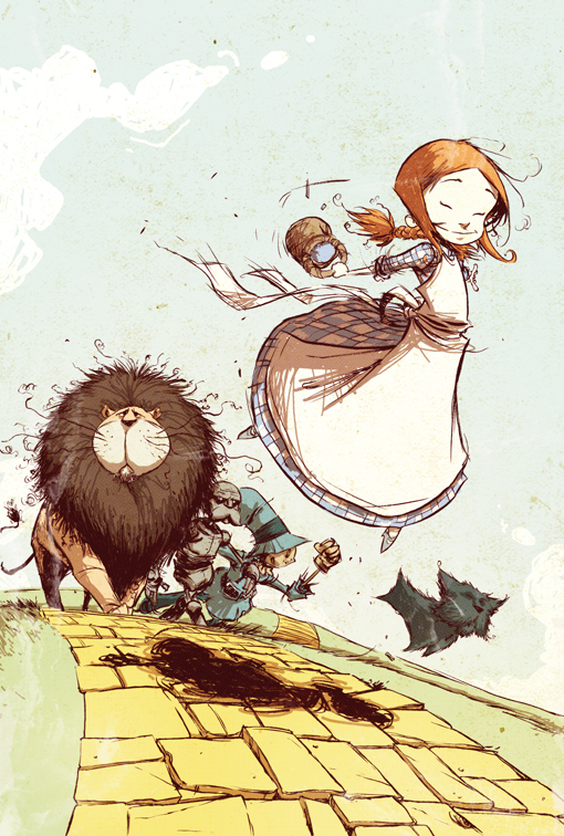 The Wonderful Wizard of Oz von Skottie Young bei Marvel