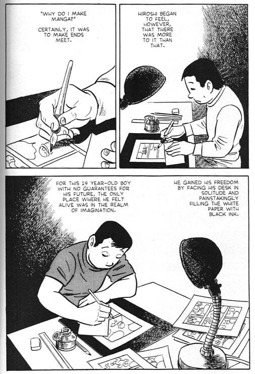 Beispiel aus Tatsumis A Drifting Life