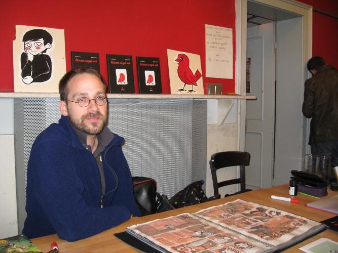 Christopher Bünte, Autor von 'Kleiner Vogel Rot'