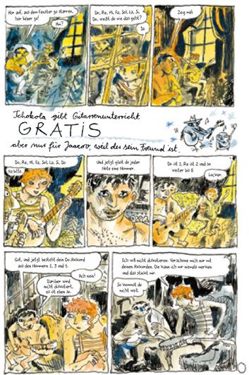 Seite aus Klezmer 3