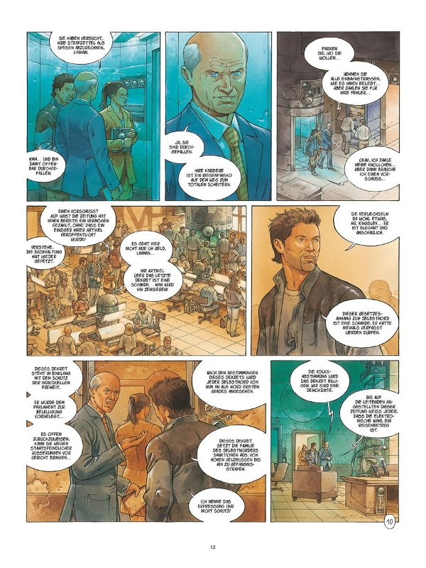 Seite aus Metronom 1