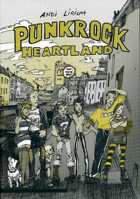 Comic: Punkrock Heartland
