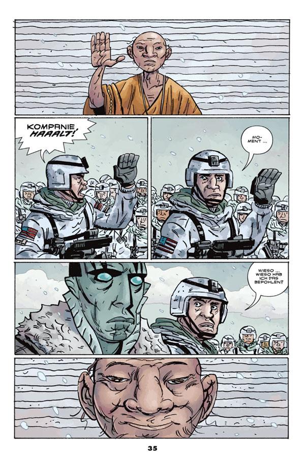 Seite aus B.U.A.P. 9