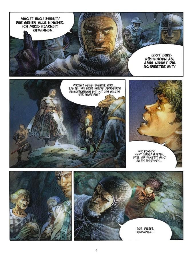 Seite aus Kreuzfahrer 1