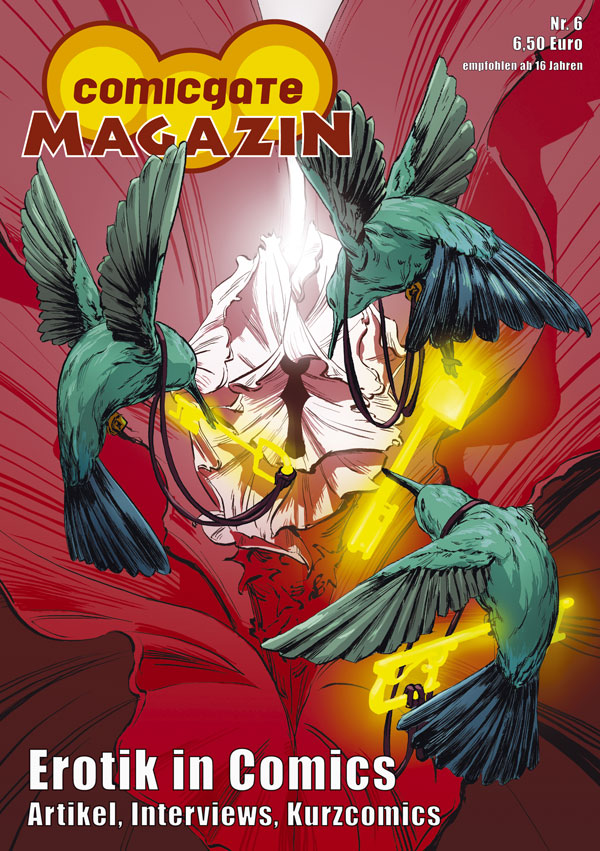 Cover Comicgate-Magazin 6: Erotik in Comics