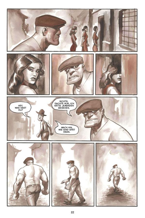 Seite aus The Goon 7
