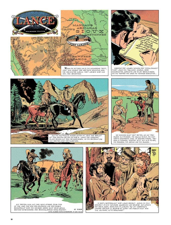 Seite aus Lance 1