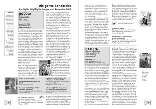 Doppelseite aus Comic Report 2011