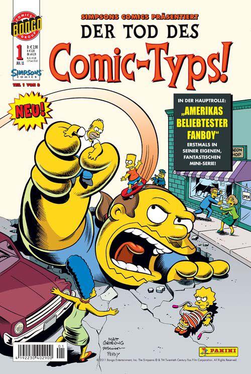 Der Tod des Comic-Typs 1