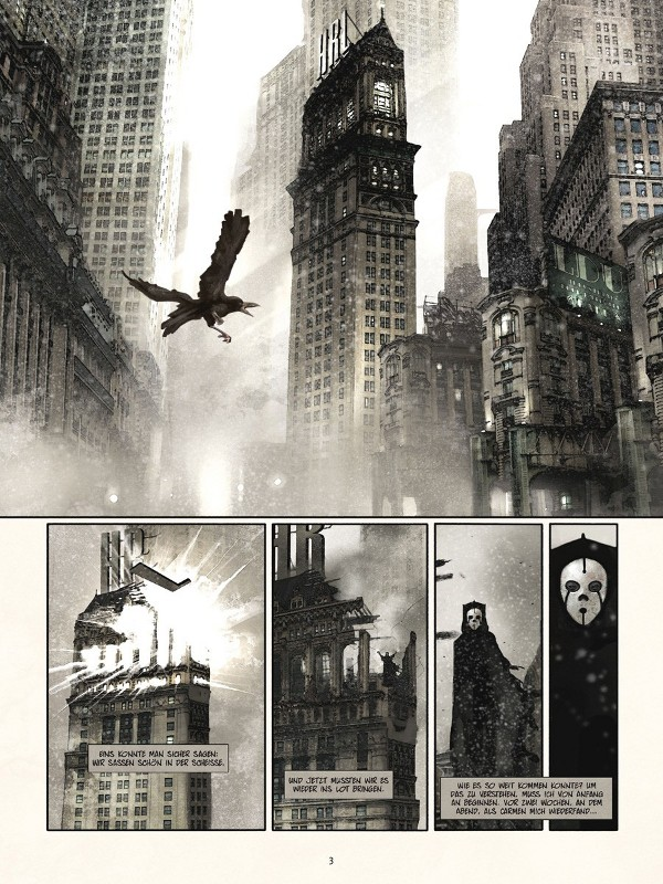Seite aus Smoke City 1
