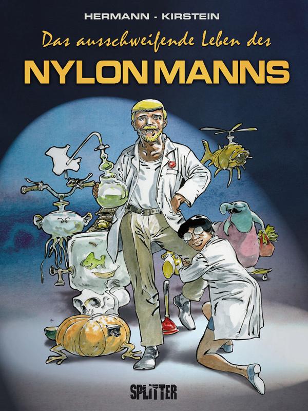 Cover Das ausschweifende Leben des Nylonmanns