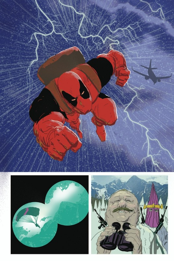 Seite aus Deadpool Max: Nutjob