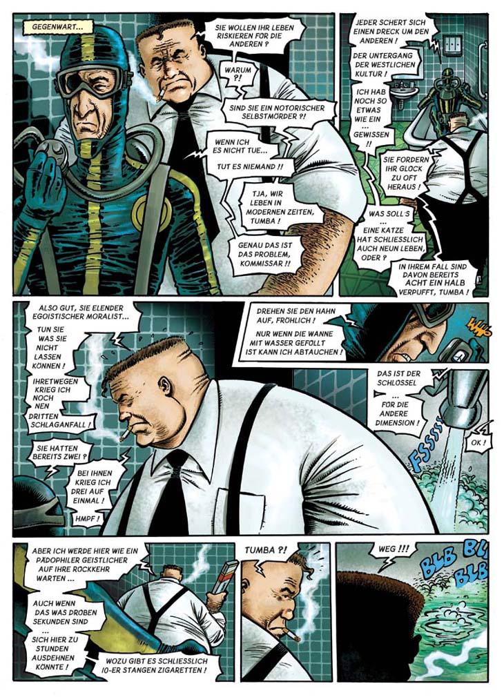 Seite aus einer Fröhlich-Story in ZACK