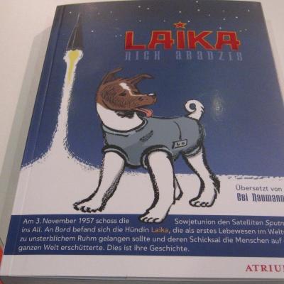 Ein halbfiktionaler Comic über Laika, den ersten Hund im All