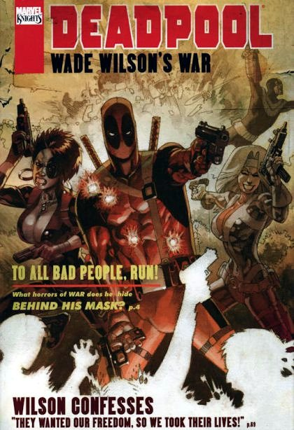 Cover Deadpool: Wade Wilson's War