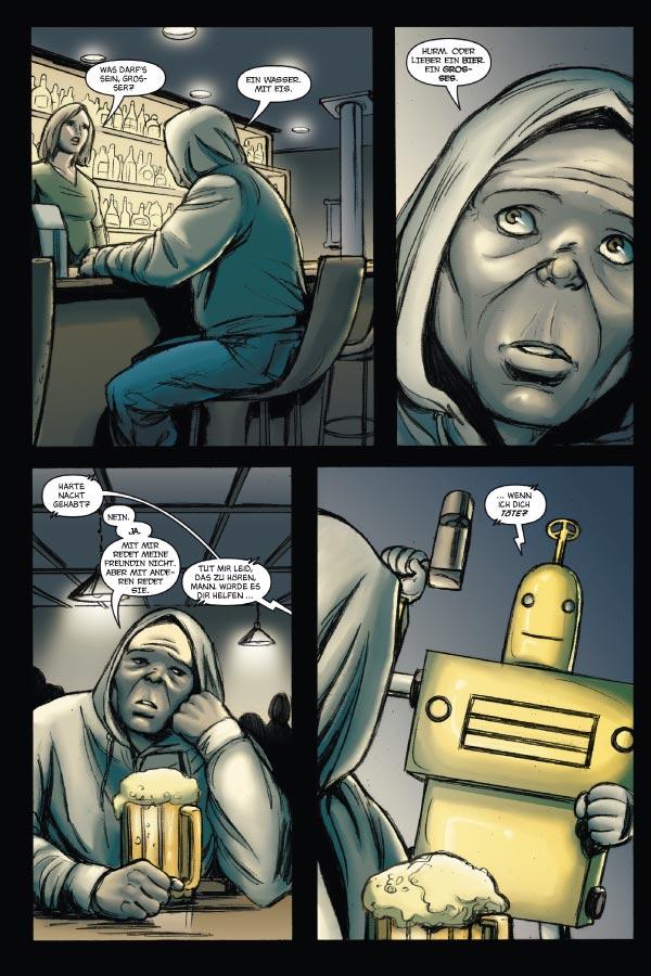 Seite aus Hack/Slash 6