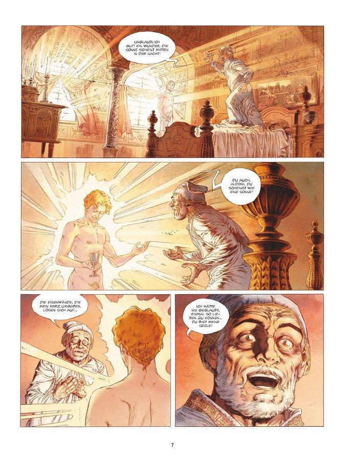 Seite aus Der schreckliche Papst 2