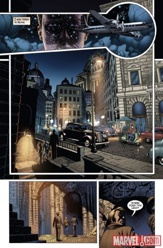 Seite aus S.H.I.E.L.D. – Architects of Forever