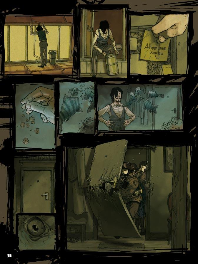 Seite aus Steam Noir 1