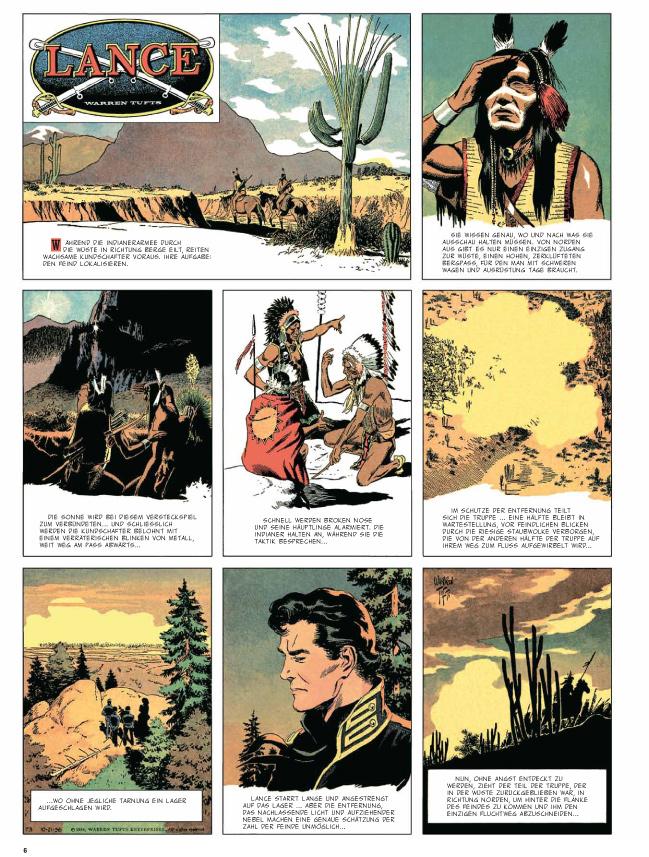 Seite aus Lance 2