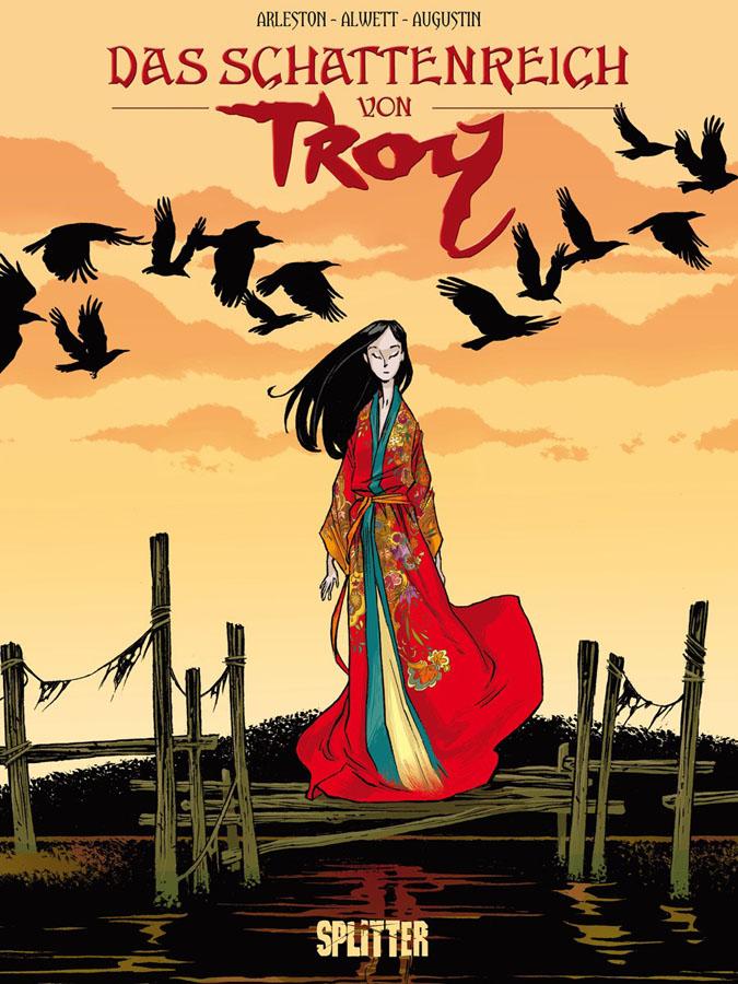 Cover Das Schattenreich von Troy